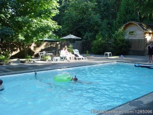 Family Fun Camping in a Lovely Forest Setting Malahat, British Columbia Campgrounds & RV Parks