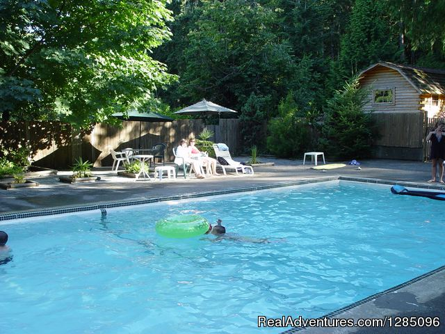 Family Fun Camping in a Lovely Forest Setting Campgrounds & RV Parks Malahat, British Columbia