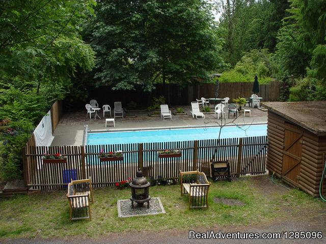 The Pool Area - Family Fun Camping in a Lovely Forest Setting