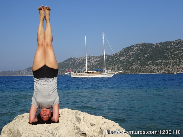 Yoga Cruise Turkey private and shared yacht cruise Fethiye, Turkey Sailing & Yacht Charters