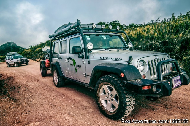 All terrain vehicles for rent in Costa Rica - Nomad America Costa Rica Camping 4X4 Roadtrip