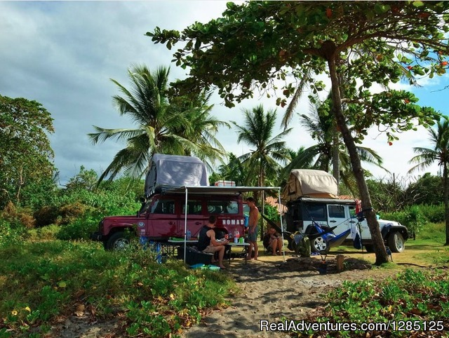 Overlanding Costa Rica - 4x4 Expedition - Nomad America Costa Rica Camping 4X4 Roadtrip