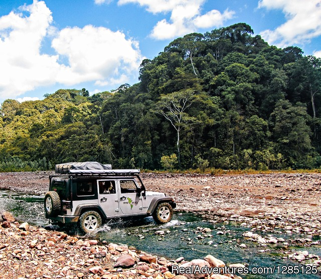 No limits Costa Rica Expedition - Nomad America Costa Rica Camping 4X4 Roadtrip