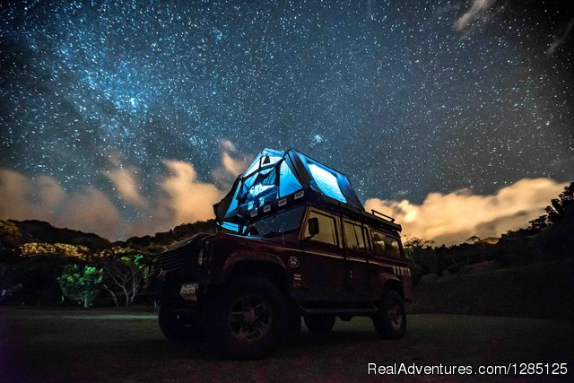 Camping in Costa Rica - amazing night Monteverde Campsites - Nomad America Costa Rica Camping 4X4 Roadtrip