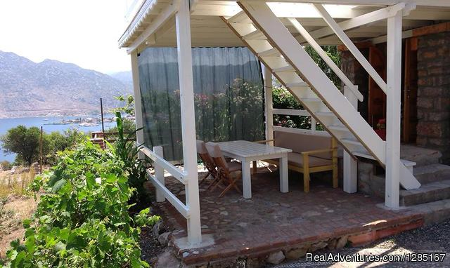 Outside Teras - private  House Rental at selimiye marmaris