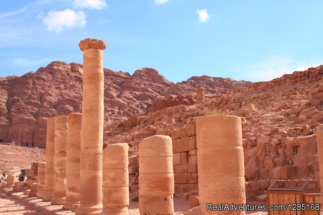Colonnaded Street - Nebo Tours Day Tour To Petra