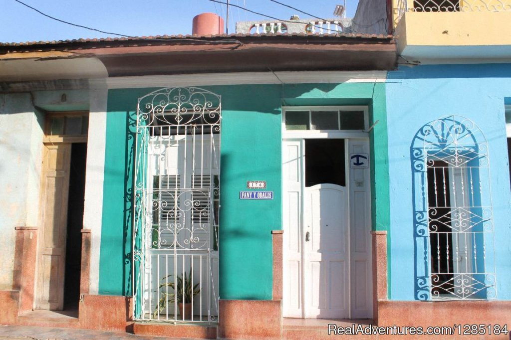 Front View | Image #1/12 | Trinidad, Cuba | Bed & Breakfasts | Hostal Fany y Odalis