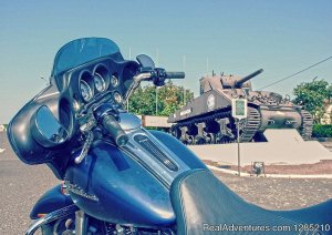 Guided Motorcycle Tour : Paris / Normandy Paris, France Motorcycle Rentals