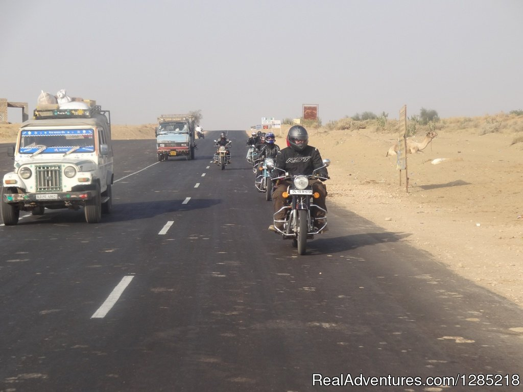 Road in Rajasthan | Image #10/25 | Motorcycle Tours India -Royal Bike Riders
