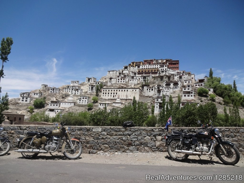Hilltop monastery in Himalayas | Image #13/25 | Motorcycle Tours India -Royal Bike Riders