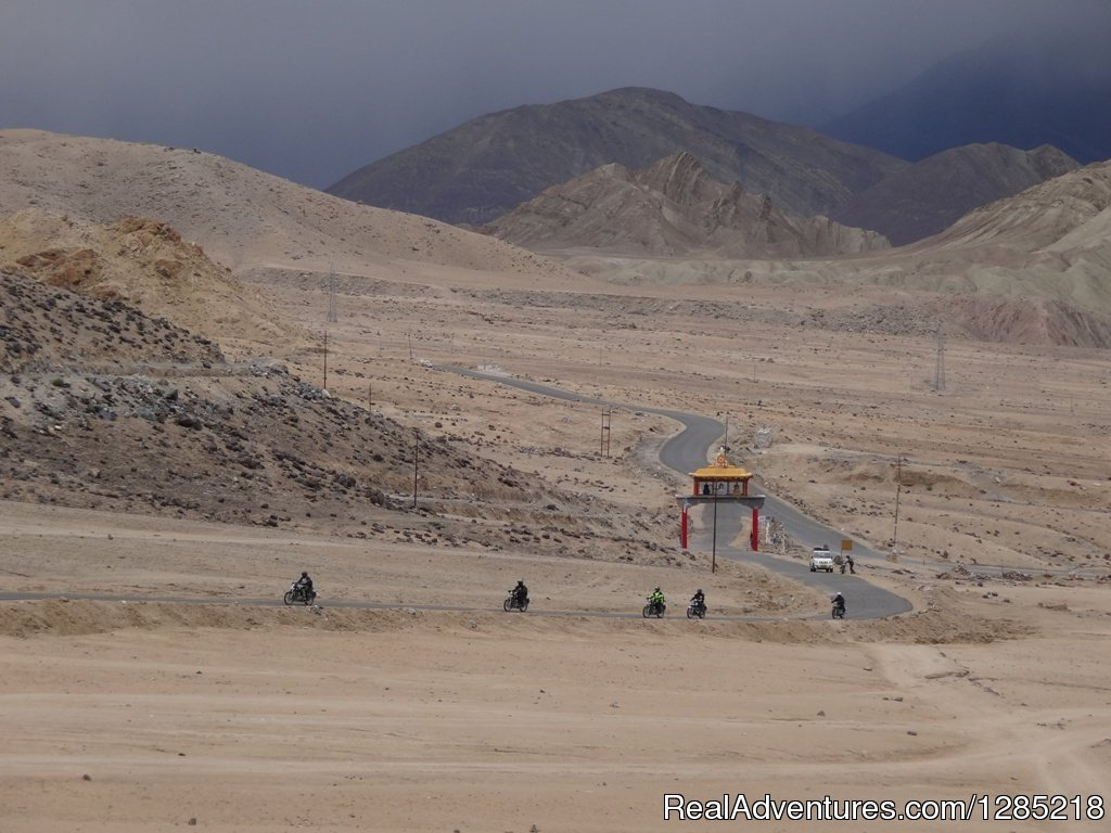 Road to Likir Monastery in Ladakh india | Image #17/25 | Motorcycle Tours India -Royal Bike Riders
