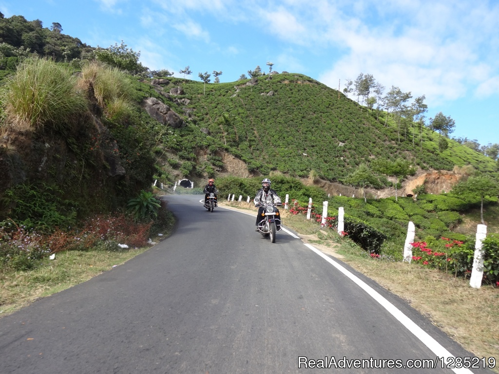 Motorcycle tour to South India