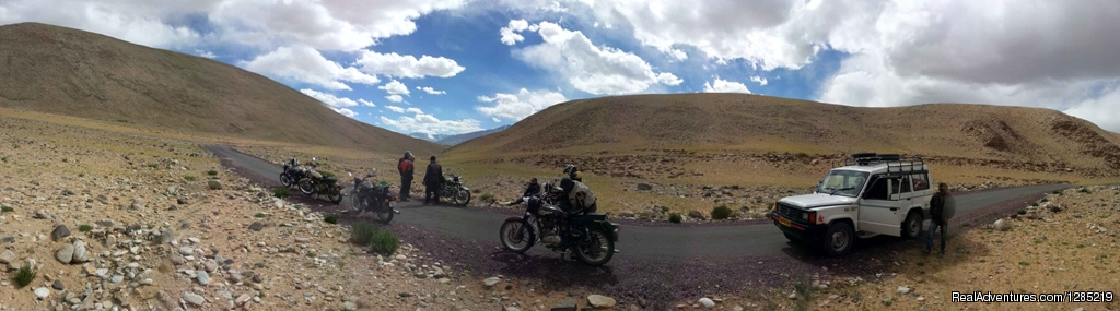 Lifetime ride to Himalayas