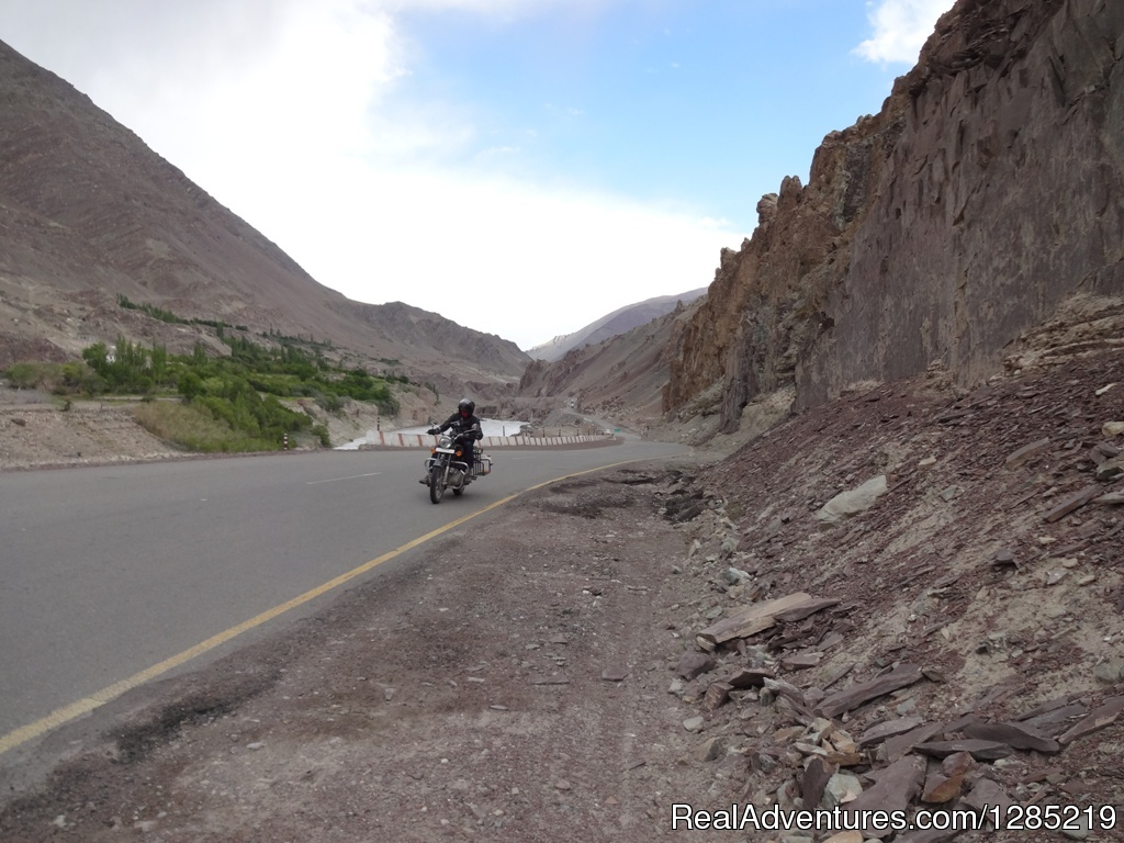 Best adventure ride on paved road in India