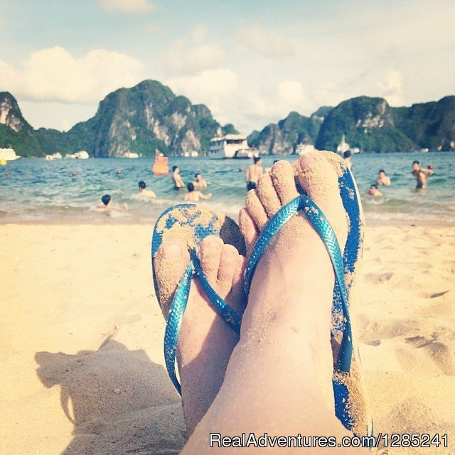 Relaxing time | Image #19/20 | Halong Paloma Cruise