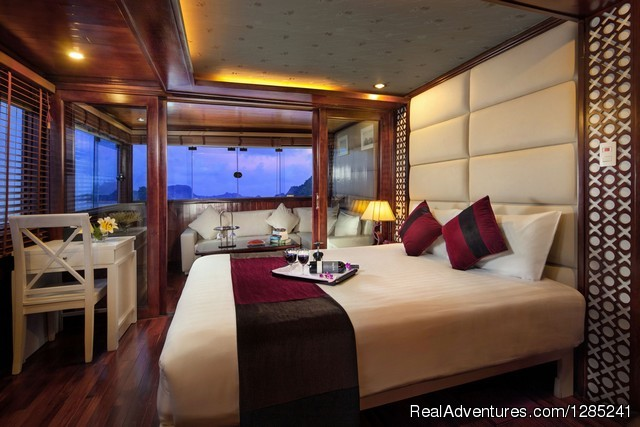 Paloma executive Suite - Halong Paloma Cruise