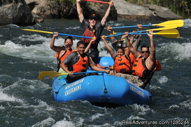 Whitewater Excitement California River Rafting
