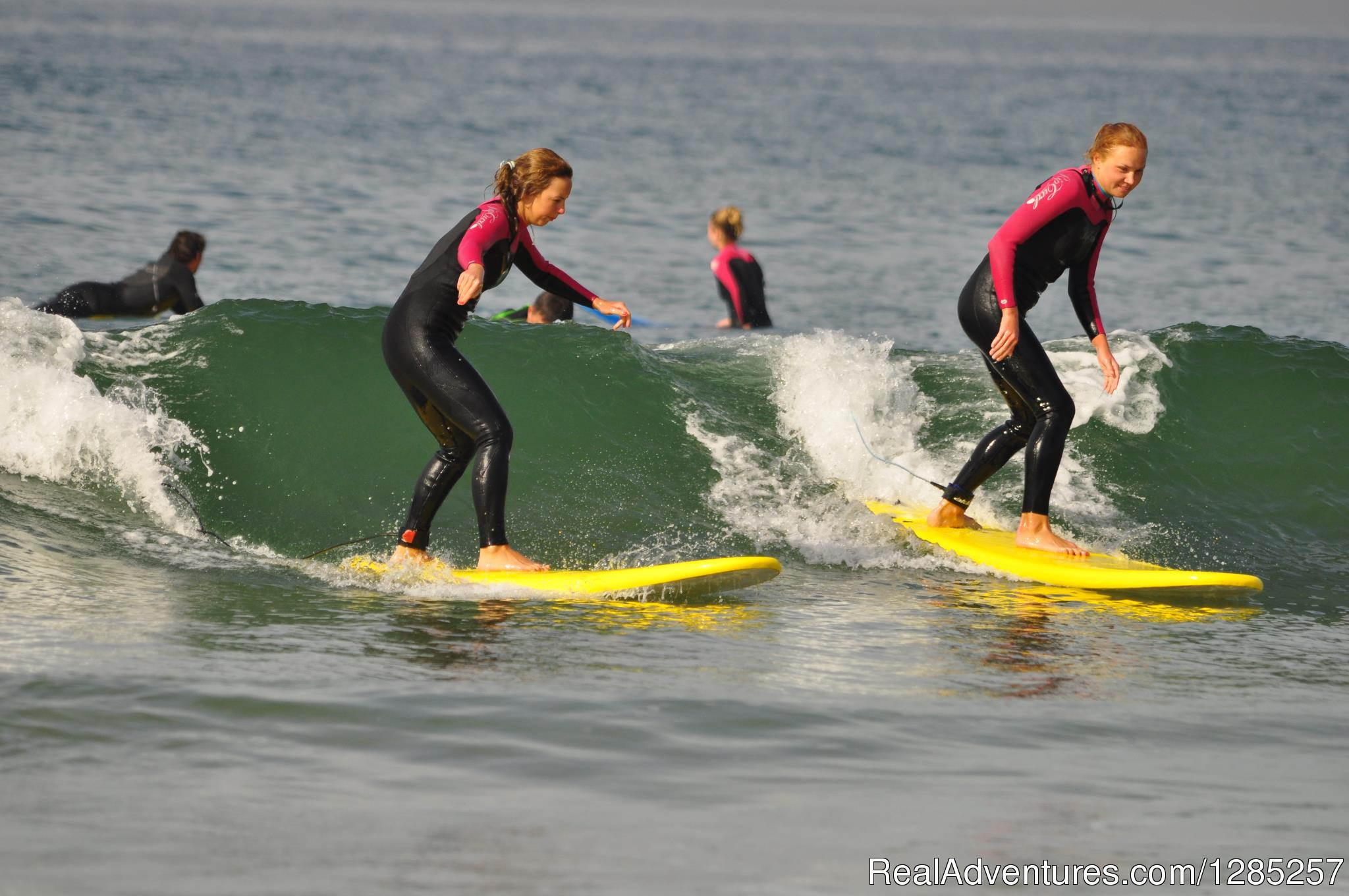 Perfect Girls Riding Pefect Waves