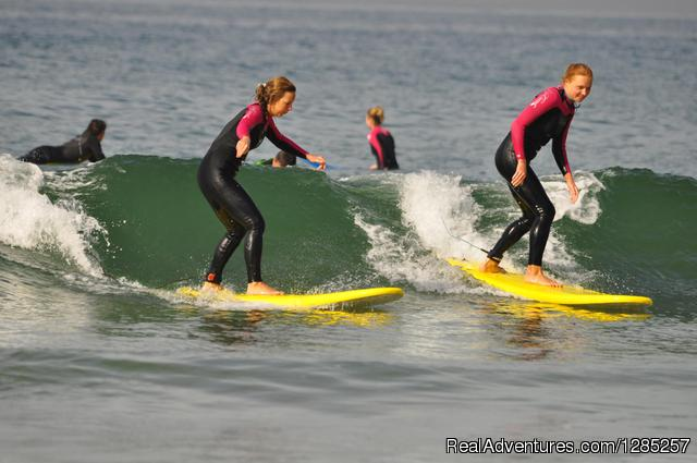 Perfect Girls Riding Pefect Waves - Surf Town Morocco