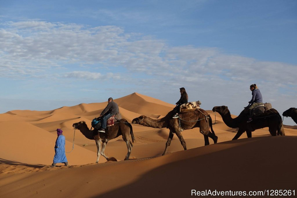 Morocco sahara Trips offering cultural tours and excursions are suitable for couples, friends, small group tours, independent travelers, student tours and family holidays with children.