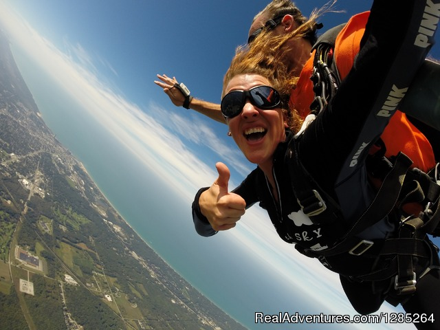 Skydive Windy City Chicago Michigan City, Indiana Skydiving