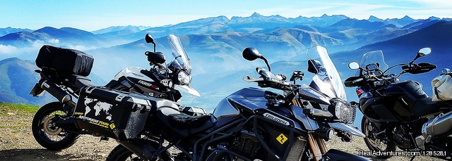 Guided Motorcycle Touring Holidays