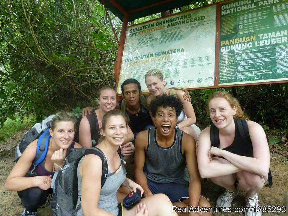 trekking participan for ten days to Kuta Cane | Image #3/7 | 10 Days Leuser National Park Expedition