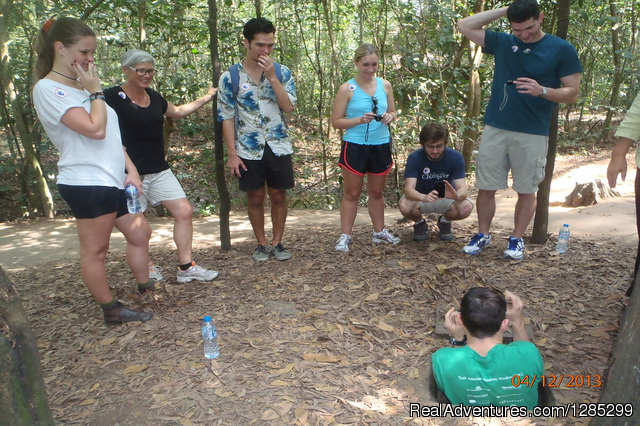 BIKING half day CU CHI TUNNELS