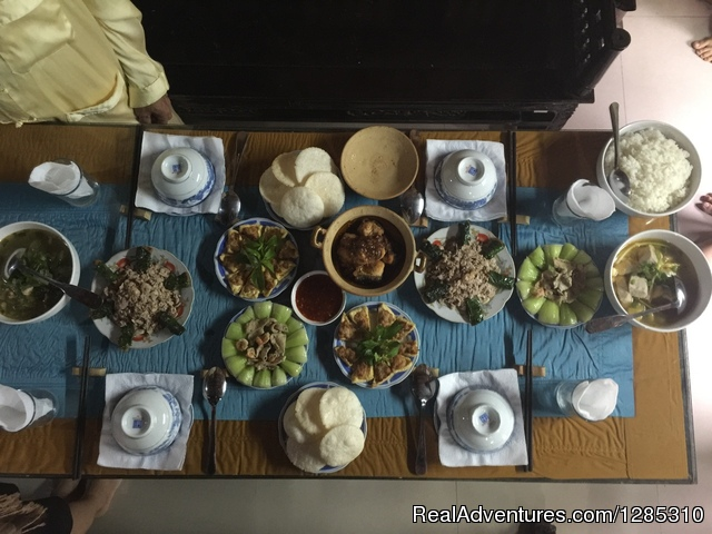 Thuy Bieu tour with homely lunch Hue, Viet Nam Eco Tours