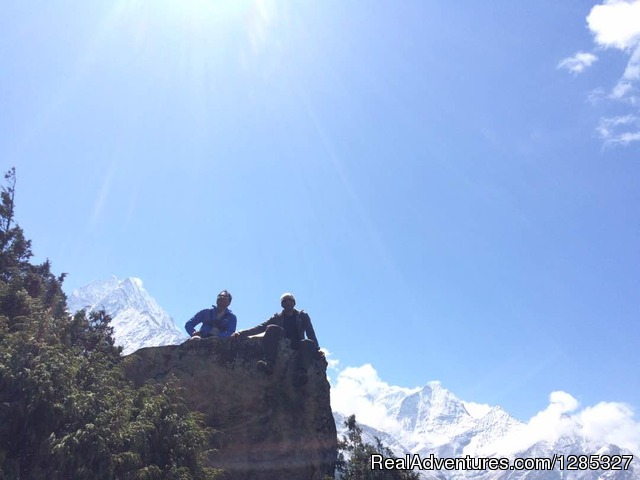 Higher Than Myself Are My Spirits - Everest Base Camp Trek