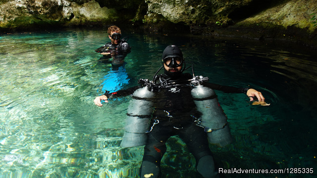 Scuba diving courses in Mexico