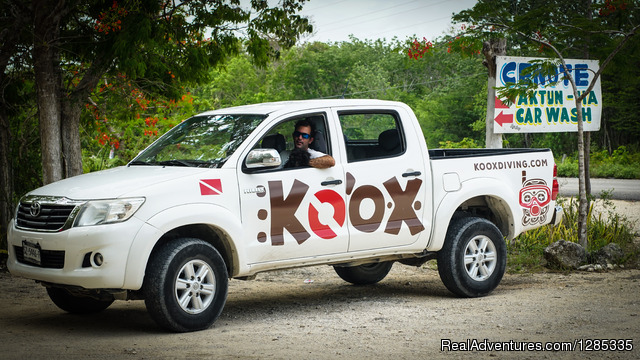 Koox Diving Tulum - Ride