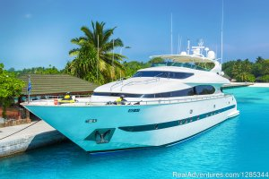 Luxury Super Yacht in Maldives, Sea Jaguar Sailing & Yacht Charters Male, Maldives