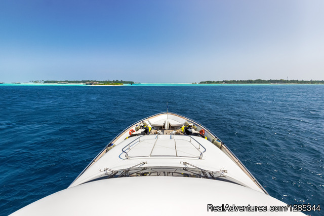 Sea Jaguar, Captain's View - Luxury Super Yacht in Maldives, Sea Jaguar