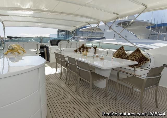 Sea Jaguar, Upper Deck - Luxury Super Yacht in Maldives, Sea Jaguar