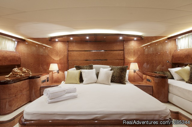 Sea Jaguar, Bedroom 2 (Double) - Luxury Super Yacht in Maldives, Sea Jaguar