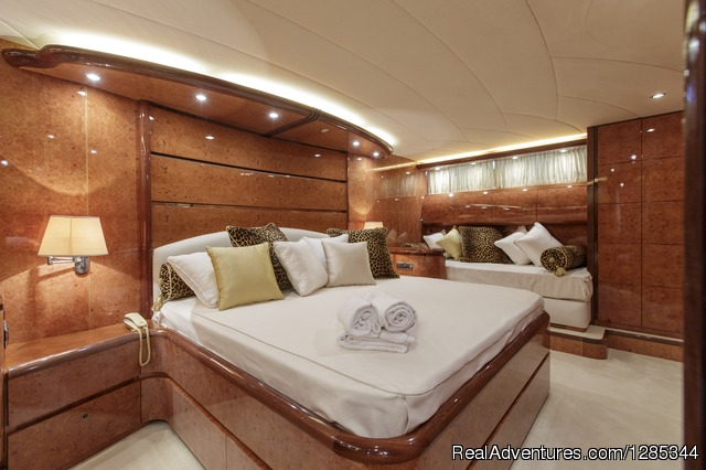 Sea Jaguar, Bedroom 3 (Double) - Luxury Super Yacht in Maldives, Sea Jaguar