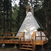 Luxury Adventure Getaways at YD Guest Ranch Our Spiritual Tipi