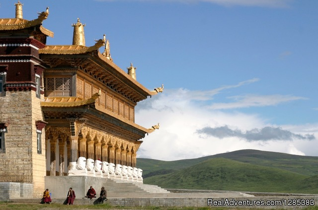 Eastern Tibet monastery - Tibet Photo Workshop