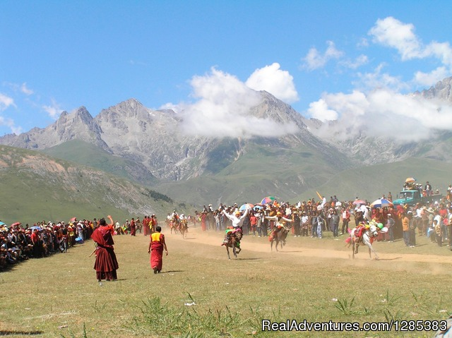 Eastern Tibet horse festival - Tibet Photo Workshop