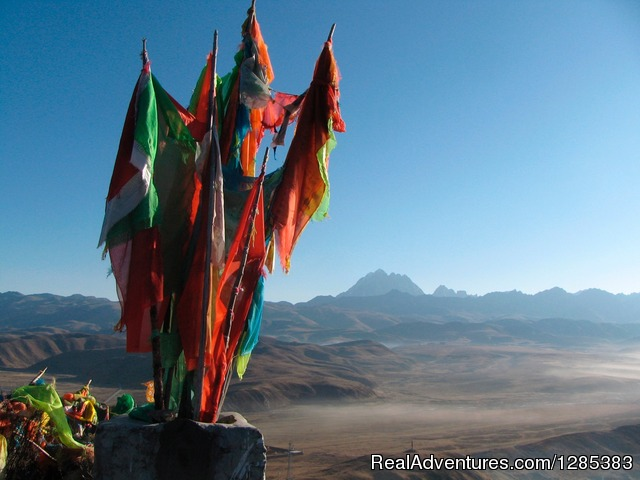 Prayer flags - Tibet Photo Workshop
