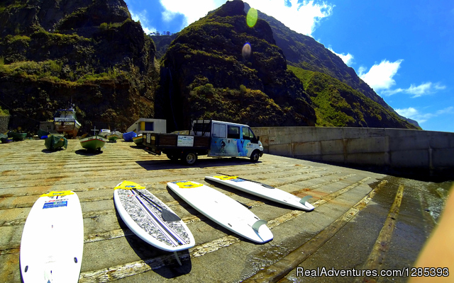 2MADEIRA Surfing camp - Surfing camp on Madeira Island 'Hawaii of Europe'