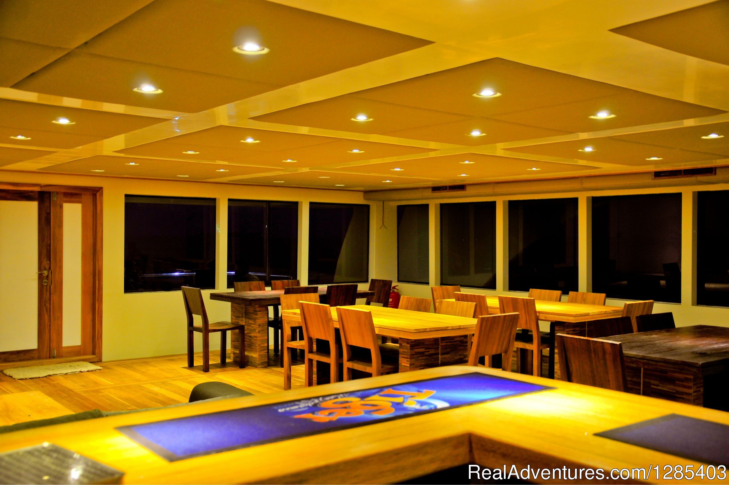 Adora / Dinning area with view from bar counter | Image #17/23 | Adora Best Luxury Crusie