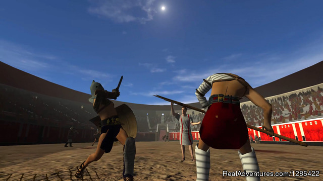 Gladiators - On-site 3d virtual reality tour of ancient Pompeii