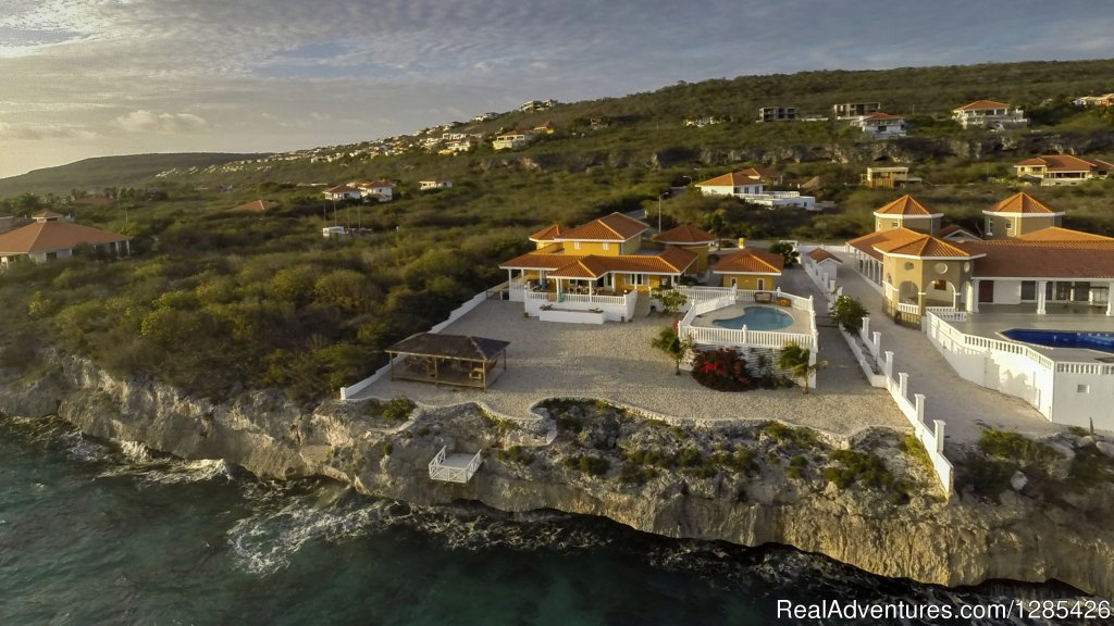 Oceanfront villa with private pool in Curacao, Dut Curacao, Curacao Vacation Rentals