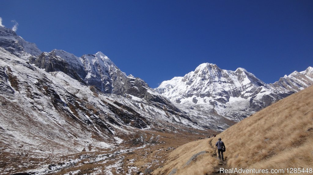 Everest Base Camp is the most popular destination for all trekkers and adventure lovers. Book the hiking journey to the base camp of the world's tallest mountain with the team of professional and long experienced local team of Massif Holidays.