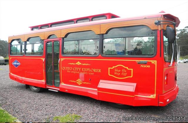 Trolley Bus - Quito City Explorer (Historical Quito)
