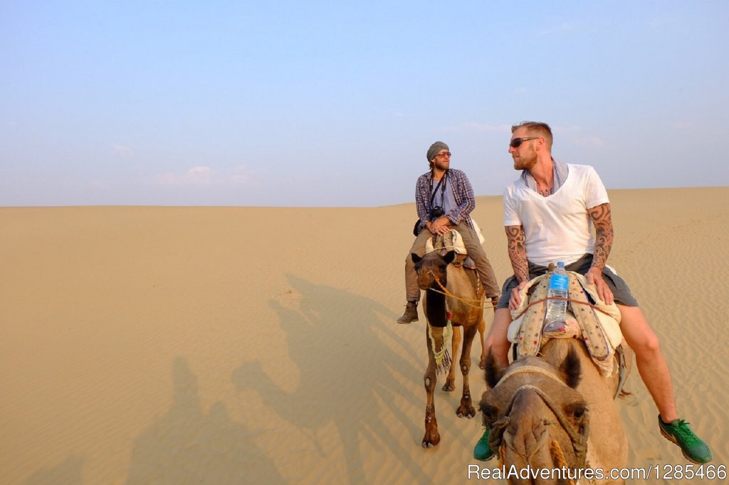 We are specialist for organising non touristic Desert Camel Safari overnight and Sunset Tours. give us a chance to make your trip most memorable trip in india. looking forward to host you in that desert.