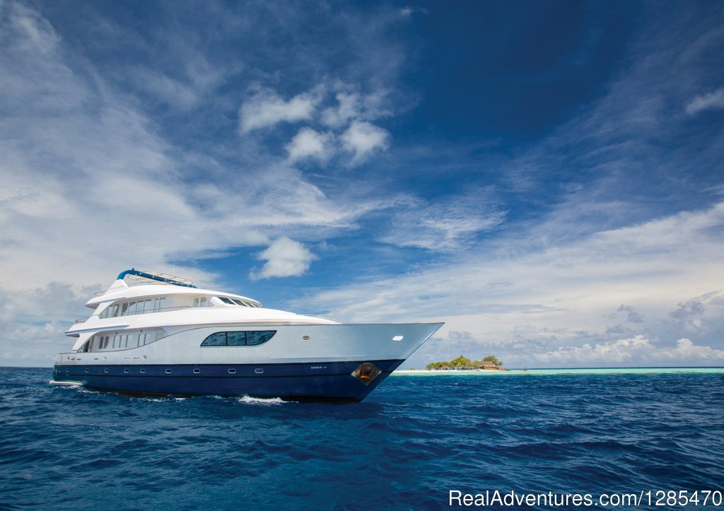 Honors Legacy is design and built in the Maldives, this stunning luxury yacht is in a class of its own. Its beautiful design and special attention to detail ensures quality and luxurious comfort for all of our guests.