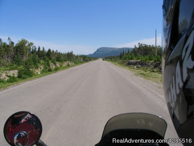 Rush hour - Brookspeed Motorcycle Rentals, Nova Scotia